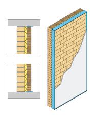 Soluciones constructivas paredes separadoras ladrillos for Paredes separadoras